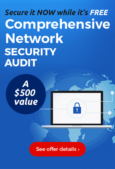 Free Network Audit - $500 Value
